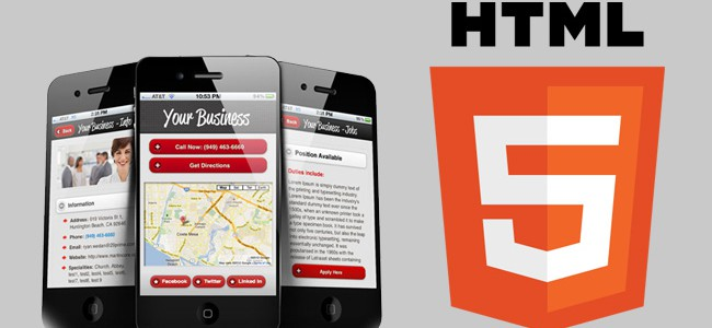 Can HTML5 be used for building mobile friendly sites