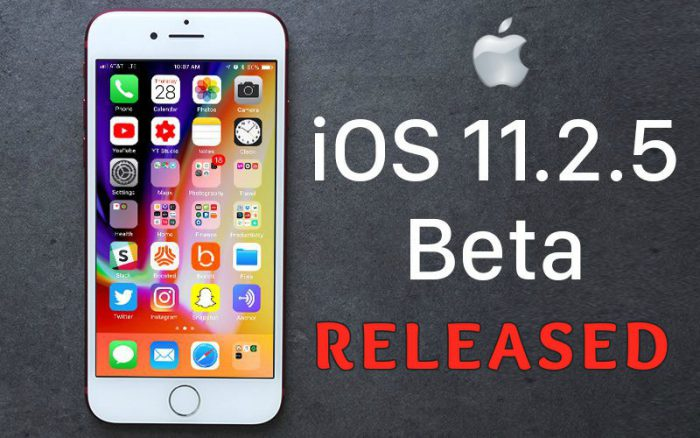 What's Special in Apple iOS 11.2.5 Update