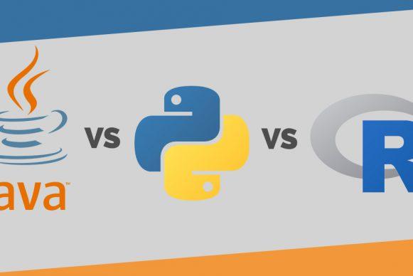 Java VS Python VS R Language