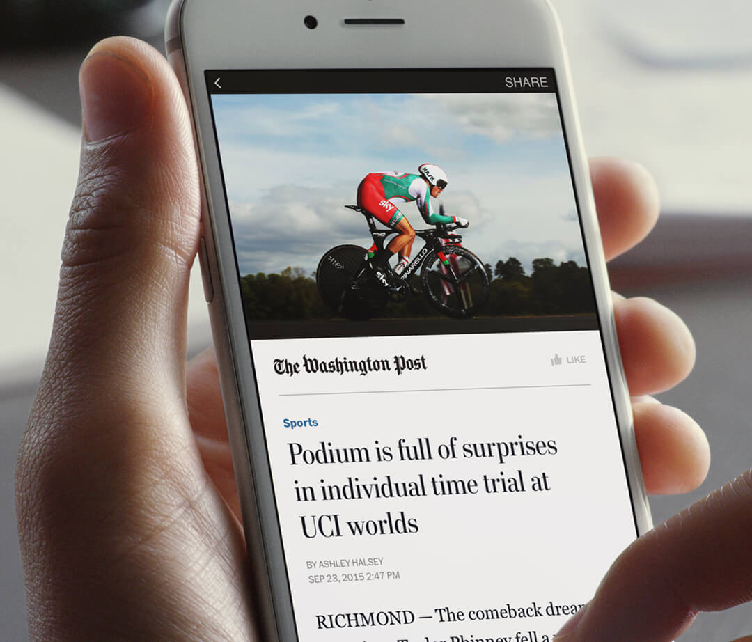 Facebook Instant Articles style editor