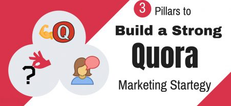 3 Pillars to Build a Strong Quora Marketing Strategy