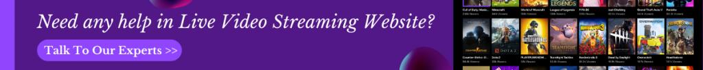 Live Video Streaming Website - Seasia Infotech
