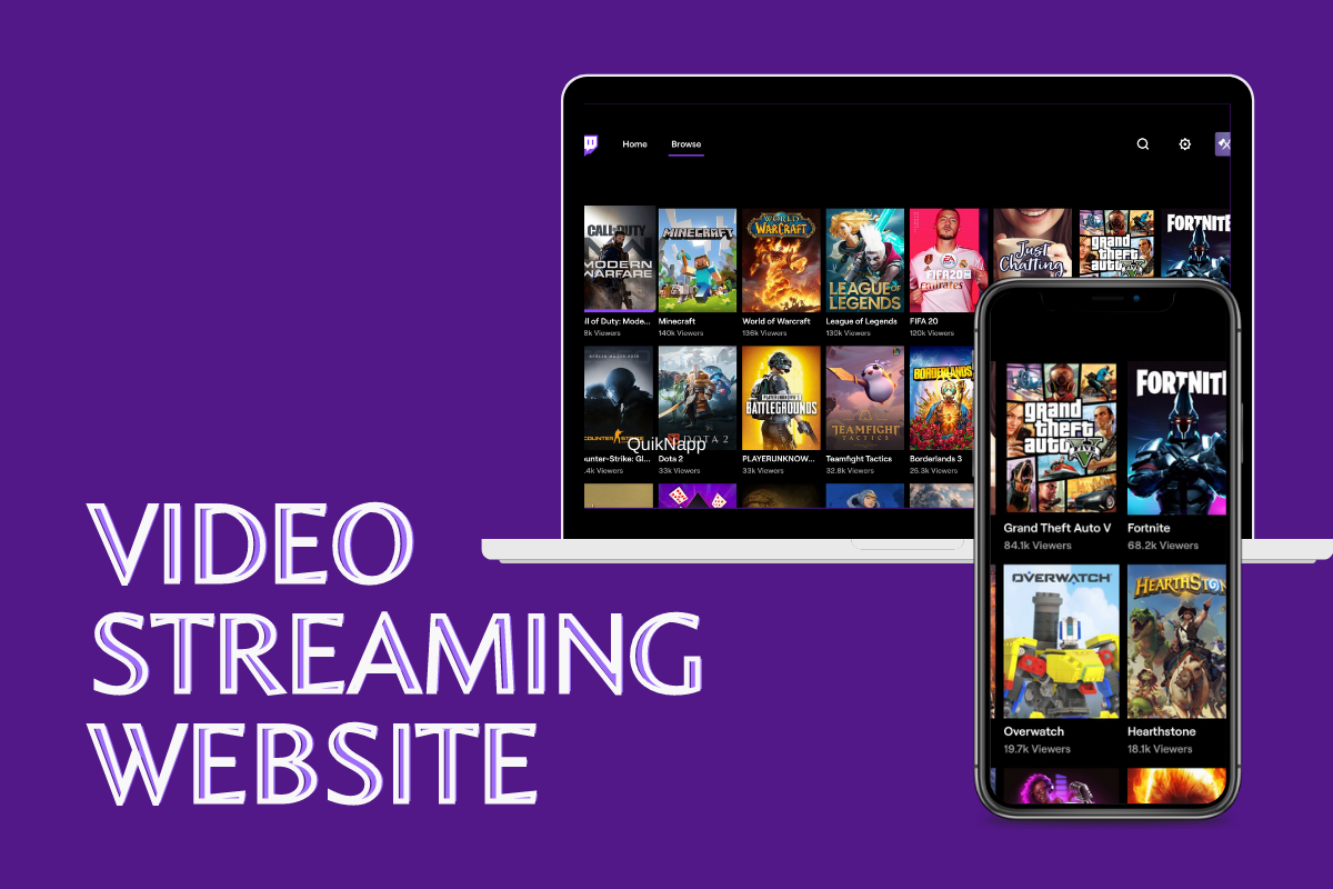 Things to Keep in Mind While Developing a Live Video Streaming Website like Twitch